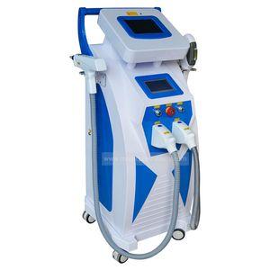 Satılık Profesyonel 4 1 Tekil Tattoo içinde Kaldırma Epilasyon Güzellik Ekipmanları OPT SHR RF IPL epilasyon makinesi / güzellik ekipmanları