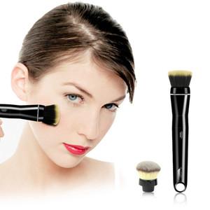 Recharge USB Brosse De Maquillage Électrique Maquillage Fondation Visage Baguettes Nettoyant Séchoir Ensemble Outil De Lavage Facilement Nettoyer Brosse en Seconde