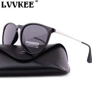 LVVKEE Klassische Cat Eye polarisierte Sonnenbrille-Frauen-Damen-Sonnenbrillen Weibliche UV400 Oculos De Sol Feminino