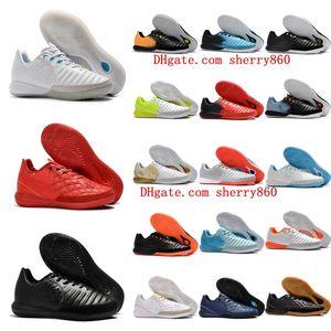 2018 erkek futbol cleats TimpoX Finale IC orijinal futbol ayakkabıları yumuşak zemin futbol ayakkabıları ucuz Tiempo Legend VII MD Kapalı Yeni