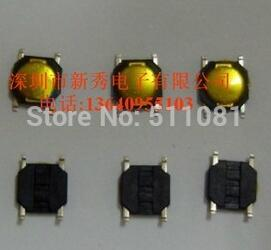 1000pcs 4 * 4 * 0.8MM 4*4*0.8mm 4X4X0.8mm Tact Switch SMT SMD Tactile membrane switch PUSH Button SPST-NO 4mmx4mmx0.8mm