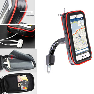Tela sensível ao toque Da Bicicleta Da Bicicleta Da Motocicleta Bicicleta Titulares Sacos de Telefone Móvel Para iPhone XS / XR / XS Max, zte axon 9 pro, nubia z18, para lenovo z5 c18110801
