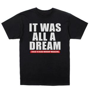 Notorische Big Biggie Smalls Es war alles ein Traum 2.0 T-Shirt Hip-Hop-Aufkleber Sommer-Mann-T-Shirt übersteigt T-Stücke New Printed Pure