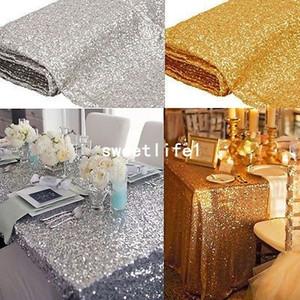 Maßgeschneiderte Größe Rechteck-Pailletten-Tuch-Pailletten-Tischdecke Großhandel-Pailletten-Tischtücher funkeln für 1 Meter x 1,2 Meter
