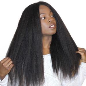 Brasilianische Spitzefront-menschliche Haarperücke für schwarze Frauen-menschliches Haar verworrene gerade Spitze-Perücken mit Babyhaar