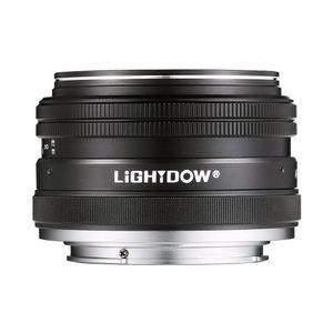 Lightdow 35мм F1.7 APS-C Prime Fixed Руководство для объектива Sony E Mount Альфа A6000 A5100 A5000 A6300 A6500 NEX-3 NEX-3N NEX-5 NEX-5Т NEX-5R NEX-6