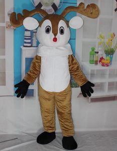 Сделать горячей продажи EVA Материал шлем лосей костюм талисмана шаржа Apparel Halloween День рождения WS613