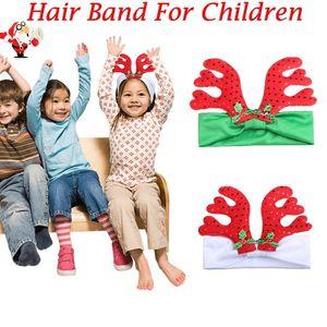 Yeni Kızlar Noel Boynuzları Kafa Çocuk Çocuk Sevimli Geniş Parti Hediye Headwrap Saç Bantları Saç Aksesuarları