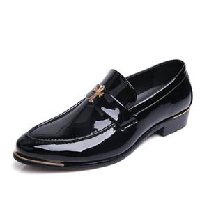 italiano oxford per gli uomini scarpe in pelle zapatos hombre scarpe da sposa formali uomini scarpe a punta scarpe da uomo heren schoenen