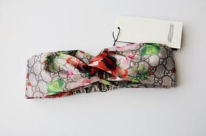 Новый 100% шелк очень мягкие повязки дамы женщины модный бренд дизайнер Bloom Flower Bird эластичный Hairband Girl ladies Headwraps