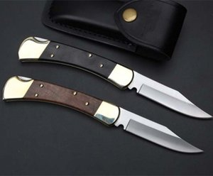 BK 110 Classic couteau pliant 440C version améliorée de la chasse camping cadeau couteau livraison gratuite 1 pcs