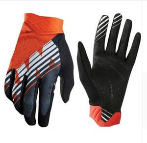 Оптовая KTM мотоцикл перчатки горные горный велосипед перчатки мужчины MX мотокросс полный палец перчатки DH MTB Велоспорт гонки перчатки Luvas Guant16