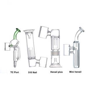G9 Adaptador De Bocal De Vidro Pedaço De Tubulação De Filtro de Água Acessório para 510 Prego / Henail Plus / Mini Henail / TC Port