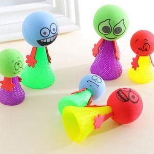 Kawaii Bounce Ball Spielzeug Lustige Hip Hop Ausdrücke PushDown Elf Bösewicht Puppe Kinder Pädagogisches kinder spielzeug Spiel Geschenke Dekompression spielzeug 9 cm