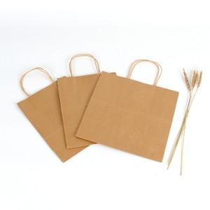 Saco de Compras Logo 50 pcs reciclável Saco de papel personalizado Kraft saco de compras para o telefone Capa Para sem fio loja de acessórios para telefones personalizado