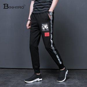 BINHIIRO Brand new design 2018 Moda Masculina Calças Calças Casuais Calças de Lazer Dos Homens de Algodão tamanho M-5XL