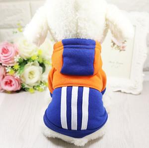 DHL 무료 배송 개 옷 고전적인 겨울 코트 가을 / 겨울 사용을위한 고품질 소프트 웜 개 재킷 Derit 공장 가격 애완 동물 선물