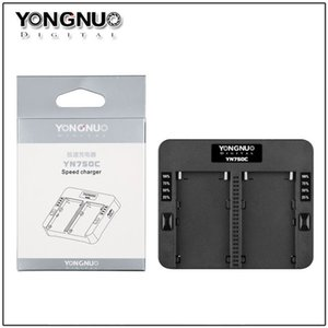 YN750C 듀얼 배터리 충전기에 대 한 YongNuo NP-750 SONY NP-F570 NP-F770 NP-F970 NPF975 970