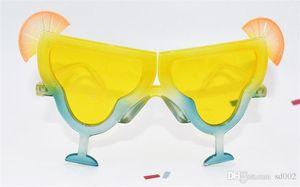 Nirengi Kupası Şekil Güneş Gözlüğü Yaz Plaj Yaratıcı Komik Gözlük Almak Fotoğraf Sahne Yenilik Hediye Sıcak Satış 7 8sfa ii
