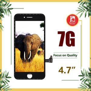 ل Tianma الجودة شاشة LCD لفون 7 شاشة LCD تعمل باللمس زجاج الشاشة محول الأرقام الجمعية كاملة عالية الوضوح اجتاز اختبار مكبرة