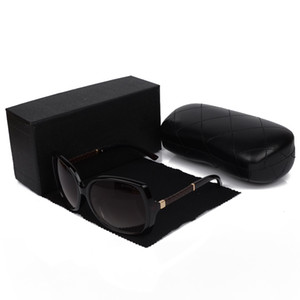 Top Quality New Fashion Óculos De Sol para As Mulheres de Luxo Designer de Óculos De Sol De Grandes Dimensões Óculos De Sol Esportes Retro Óculos UV400 Lentes Caixa e Caso