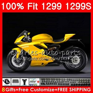 Injection for DUCATI 959 R 959 1299 Light golden Panigale 2015 2016 2017 2018 Kit 108HM.57 959R 1299 S 1299R 959S 1299S 15 16 17 18 Fairing