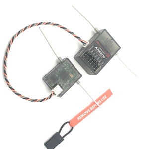 Spektrum AR6200 2.4G 6Ch Receiver for DX6i JR DX7 DSM2 Receiver with Satellite Free Shipping