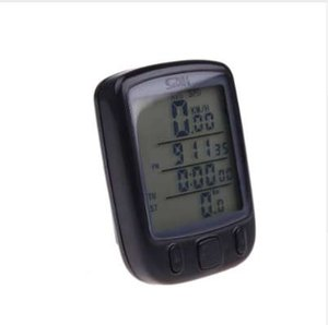 Big Digital LCD Bicycle Bike Stopwatch Backlight Night Ride Computer Odometer Speedometer Temperature Waterproof Multifunction