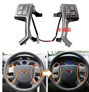 Geely Emgrand 7 EC7 EC715 EC718,EC7-RV EC715-RV,Car steering wheel multi-function remote buttons,CD audio volume channel