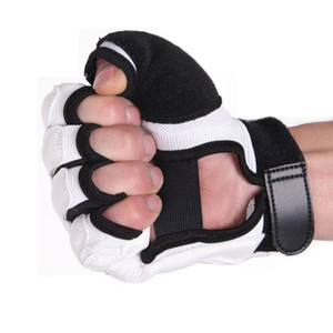 Fitness Zubehör Taekwondo Handschuhe Kampfhandschutz WTF Approved Martial Arts Sports Handschutz PU-Leder Fitness Boxhandschuhe