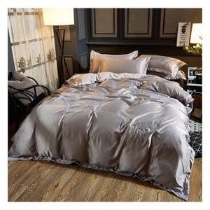 Simple DUVET COVER SET bed skirt Pillow Case LUXURY QUILT SETS DUVETS COVERS SINGLE DOUBLE SUPER Queen King Size Bed Set