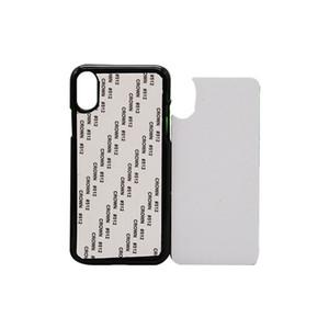 10шт Retail 2D Сублимация Пустой телефон Жесткий чехол для ПК iPhone Xs Xr Xs Max Назад Корпус с алюминиевого листа бесплатной доставкой