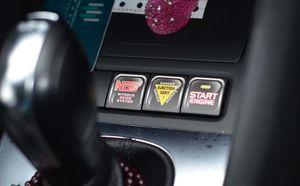 6 x Divertente Decorazione Auto Impermeabile Auto adesivo interno e decalcomanie Per Volkswagen Skoda Polo Golf 4 5 6 7 Passat B6 B8 Jetta