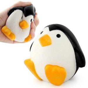 الضغط تنفيس اللعب بو انتعاش بطيء محاكاة القطب الجنوبي البطريق الذكور البطريق الكرتون تمثال المطاط الكرة اللعب