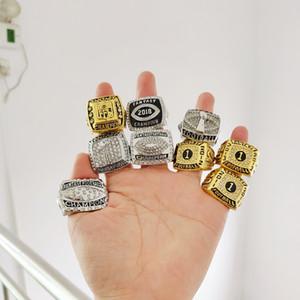 Newes 2011-2018 fantasy football championship кольцо вентилятор подарок высокое качество Оптовая перевозка груза падения