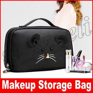 Cute Fashion Damen Quaste Make-up Taschen Aufbewahrung mit Reißverschluss Frauen Kosmetiktaschen Cases Multi Functional Taschen
