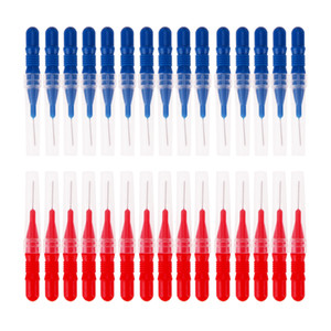 30 pçs / set Floss Toothpick Dente Higiene Dental Fio Dental Plástico Macio Escova Dental Palito Saudável para Os Dentes de Limpeza Oral Care