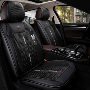 Universal Fit Car Interior Accessories Fundas de asiento para camiones Full Rounded Design High Class Durable Leather Leather Five Seat Fundas de camiones
