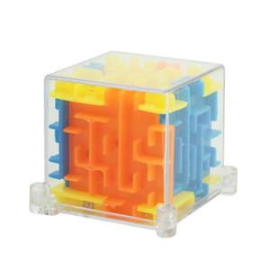 2018New Puzzle Maze Magic Cube Toys Mini Speed Cube Puzzles Labyrinth Rolling Ball Cubos Magicos Aprendizaje de juguete para adultos de Chilles