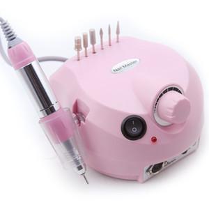 30000 RPM Aparato profesional de la máquina para manicura Pedicura Kit Archivo eléctrico con cortador Nail Drill Art Pulidora Herramienta Bit
