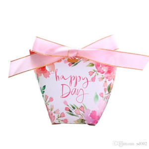 Boda Kraft Bolsas de papel Bolso de caramelo de dibujos animados Flamingo Bolsa de embalaje de agua Envoltorio de regalo Decoración de mesa Nuevo 0 6yr ii
