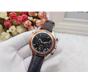 2019 Todos Subdials Trabalho Mens Wathces Aço Inoxidável Top Relogies da marca relógios de quartzo Relógios De Pulso Cronômetro Relógio de luxo Mulheres Assistir