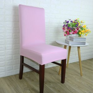 Elastic Thickening Force Chair Covers Concise Style Hotel Decoration Seat Cover Comfortable Colorful High Quality Travel 6 5sx ff