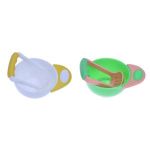 Baby Food Grinding Bowl Kids Food Supplement Grinder(No Lid) Processor Juice Press Machine Baby Feeding Accessories