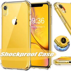 Yeni iPhone 11 Pro XR XS Max X Case Şeffaf Darbeye TPU Arka Kapak Samsung S9 S8 Artı Not 8 için