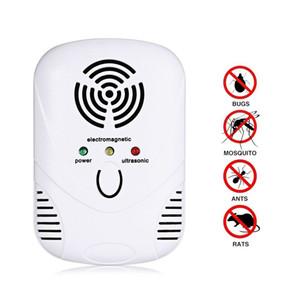 Eletrônico Controle de Pragas Ultrasonic Repeller 110-250 V Rato Assassino Armadilha Barata Mosquito Ratos Insetos Aranhas Controle Plug EUA / UE