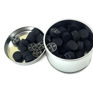 10 قطع في حزمة الأصلي jassinry الأسود 6 طبقات 14 ملليمتر البلياردو جديلة نصائح في s / m / h جودة عالية للعبة جديلة العصي