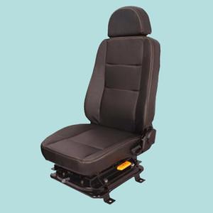 Siège du conducteur d'origine pour chargeur, pelle, chariot élévateur, suspension mécanique, réglage de l'accoudoir, réglage de l'appui-tête, réglable, rotation de 360 °