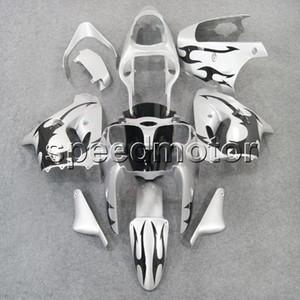 23colors + regalos llamas negras + motocicleta de la carrocería de plata carenado para Kawasaki ZX9R 1998-1999 ZX-9R 98 99 kit de plástico ABS