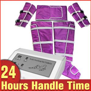 Heißer Verkauf Lymphdrainage Schlankheits Decke Körper-Brust-Massage-Luftdruck Pressotherapie Maschine für Salon Spa